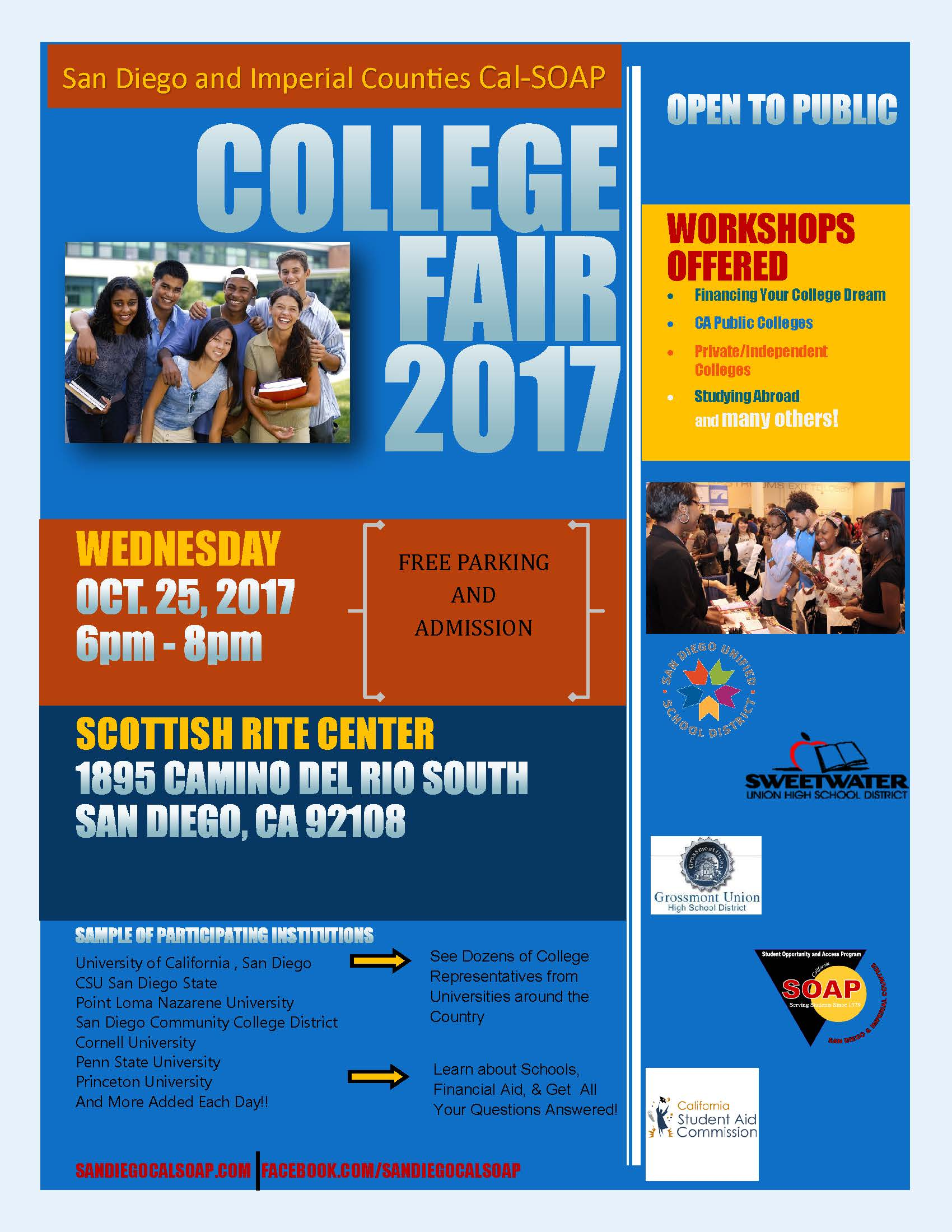 College Fair 2017 Information