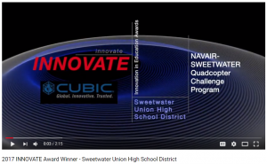 video link to classroom of the future foundation award video
